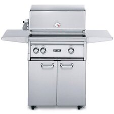 "27"" Gas Grill with Rotisserie Burner"