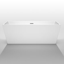 "Sara 67"" x 31.5"" Soaking Bathtub"