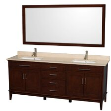 "Hatton 80"" Double Bathroom Vanity Set"