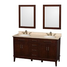 "Hatton 60"" Double Bathroom Vanity Set"