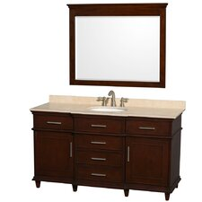 "Berkeley 60"" Single Vanity Set"