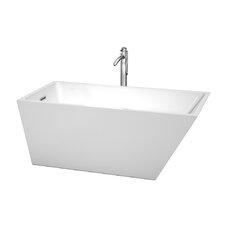 "Hannah 59"" x 29.5"" Soaking Bathtub"