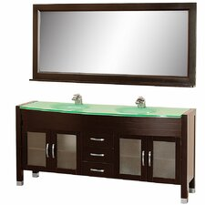 "Daytona 70.75"" Double Bathroom Vanity Set"
