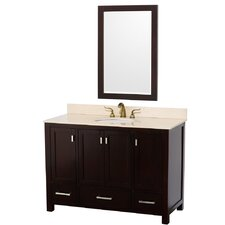 "<strong>Wyndham Collection</strong> Abingdon 49"" Single Bathroom Vanity Set"