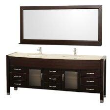 """Daytona 77.8"""" Double Bathroom Vanity Set"""