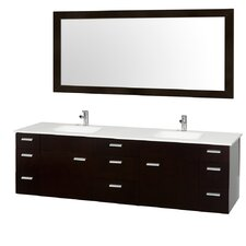 "Encore 78"" Double Bathroom Vanity Set"