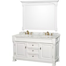"Andover 60"" Double Vanity Set"