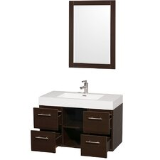 "Stephanie 38"" Single Wall Mounted Vanity Set"