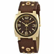Women's Off the Cuff Watch in Brown