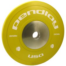 35 lb Elite Color Bumper Plates (Set of 2)