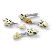 Spreading Cow Knife (Set of 4)