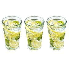Life Recycled Glass (Set of 3)