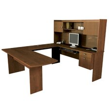 Omega U-Shape Executive Desk Office Suite