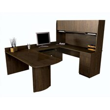 <strong>Bestar</strong> Executive U-Shape Desk Office Suite