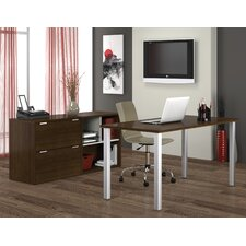 Contempo Computer Desk with Storage