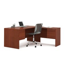 Fall Creek L-Shaped Workstation