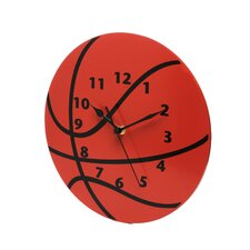 "<strong>Trend Lab</strong> 11"" Basketball Wall Clock"