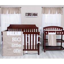 Dream Big Little One 3 Piece Crib Bedding Set