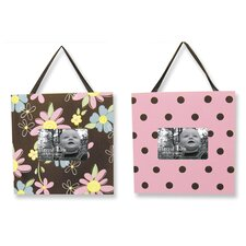 <strong>Trend Lab</strong> Blossoms Picture Frame (Set of 2)