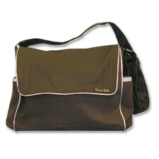 <strong>Trend Lab</strong> Giggles Messenger Diaper Bag