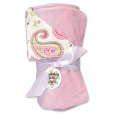 Paisley Park Reversible Velour Baby Blanket