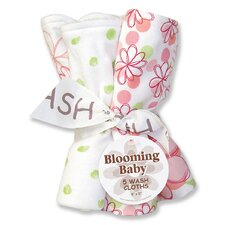 <strong>Trend Lab</strong> Hula Baby Blooming Bouquet 5 Pack Wash Cloth Set