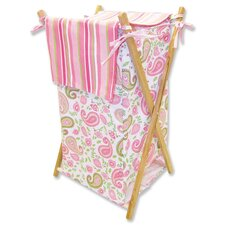 <strong>Trend Lab</strong> Paisley Park Hamper Set with Frame