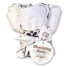 <strong>Trend Lab</strong> Heirloom Blooming Bouquet Bib