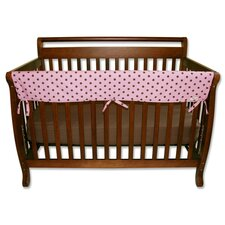 "Maya Dot 51"" Front Crib Rail Cover"