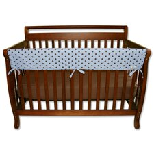 "<strong>Trend Lab</strong> Max Dot 51"" Front Crib Rail Cover"