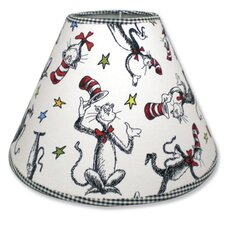 "7"" Dr Seuss Cat in the Hat Cotton/Polyester Empire  Lamp Shade"