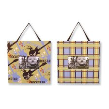 Rockstar Picture Frame (Set of 2)