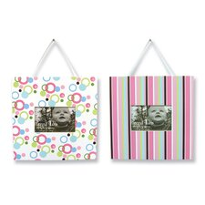 <strong>Trend Lab</strong> Cupcake Picture Frame (Set of 2)