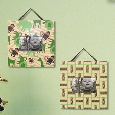 <strong>Trend Lab</strong> Jungle Jam Picture Frame (Set of 2)