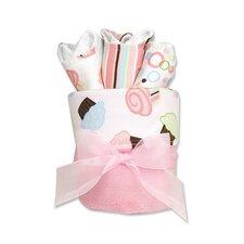 Cupcake Blanket Gift Cake