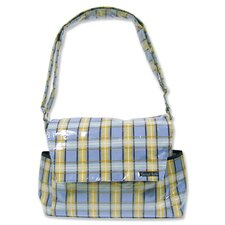 Rockstar Messenger Diaper Bag