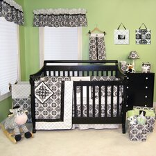 Versailles 4 Piece Crib Bedding Set