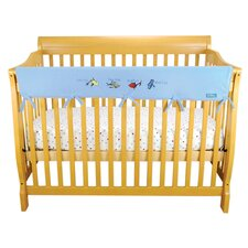 <strong>Trend Lab</strong> Dr. Seuss Crib Wrap Rail Cover Long Blue Fleece