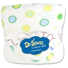 Dr. Seuss Oh The Places You''ll Go Bouquet Hooded Towel