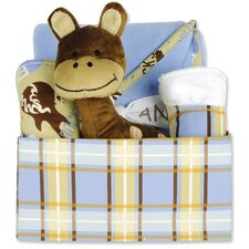 Rockstar 5 Piece Plaid Box Gift Set
