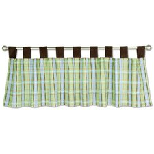 <strong>Trend Lab</strong> Baby Barnyard Cotton Curtain Valance