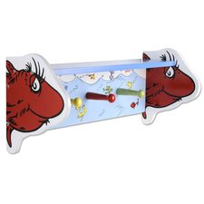 Dr. Seuss 1 Fish 2 Fish Shelf with Pegs