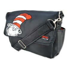 Dr Seuss Cat in the Hat Messenger Diaper Bag