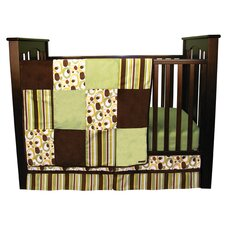 <strong>Trend Lab</strong> Giggles 3 Piece Crib Bedding Set