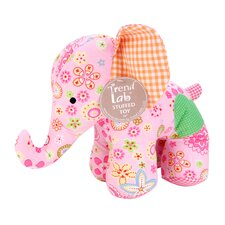 <strong>Trend Lab</strong> Sherbet Elephant Stuffed Toy