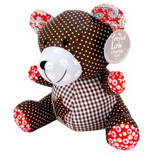 Chocolate Kiss Bear Stuffed Toy