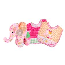 Sherbet Bib and Buddy Set