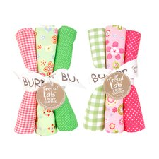 <strong>Trend Lab</strong> 6 Piece Sherbet Burp Cloth Set