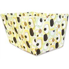 <strong>Trend Lab</strong> Giggles Large Fabric Storage Bin in Circle Print