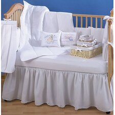 <strong>Trend Lab</strong> Pique 4 Piece Crib Bedding Set